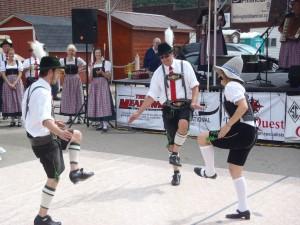 Schuhplattler Dancers